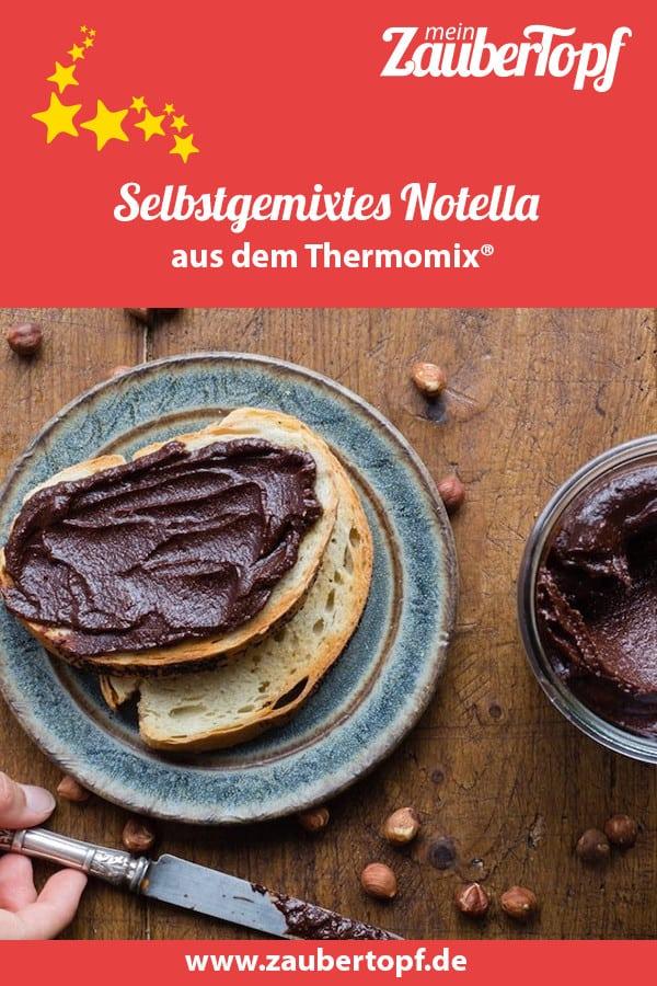Notella aus dem Thermomix® – Foto: Sophia Handschuh