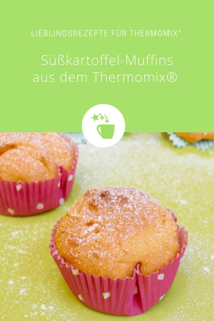 Süßkartoffel-Muffins aus dem Thermomix® – Foto: Nicole Stroschein