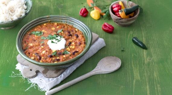 Chili sin Carne aus dem Thermomix® – Foto: Tina Bumann