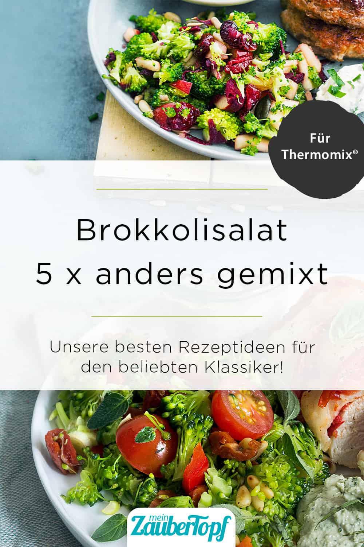Brokkoli-Salat mit dem Thermomix® – Foto: Ira Leoni / Anna Gieseler