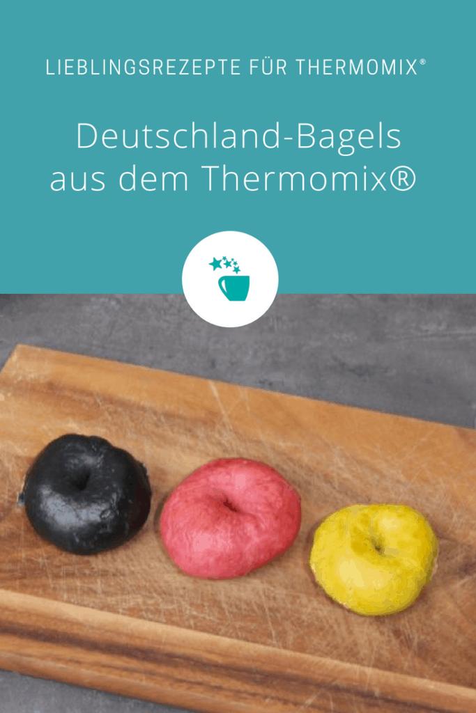 Deutschland-Bagels aus dem Thermomix® –Foto: Vivien Windel