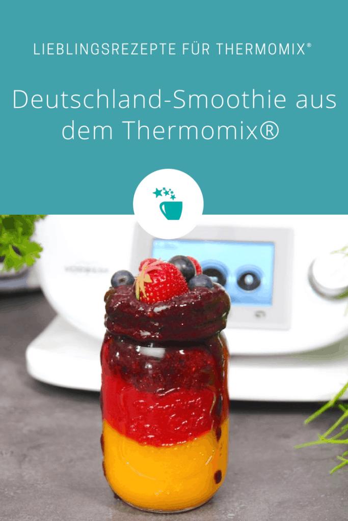 Deutschland-Smoothie aus dem Thermomix® – Foto: Vivien Windel