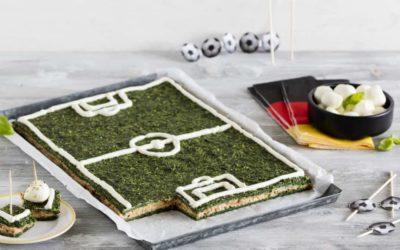 Fußballfeld-Spieße
