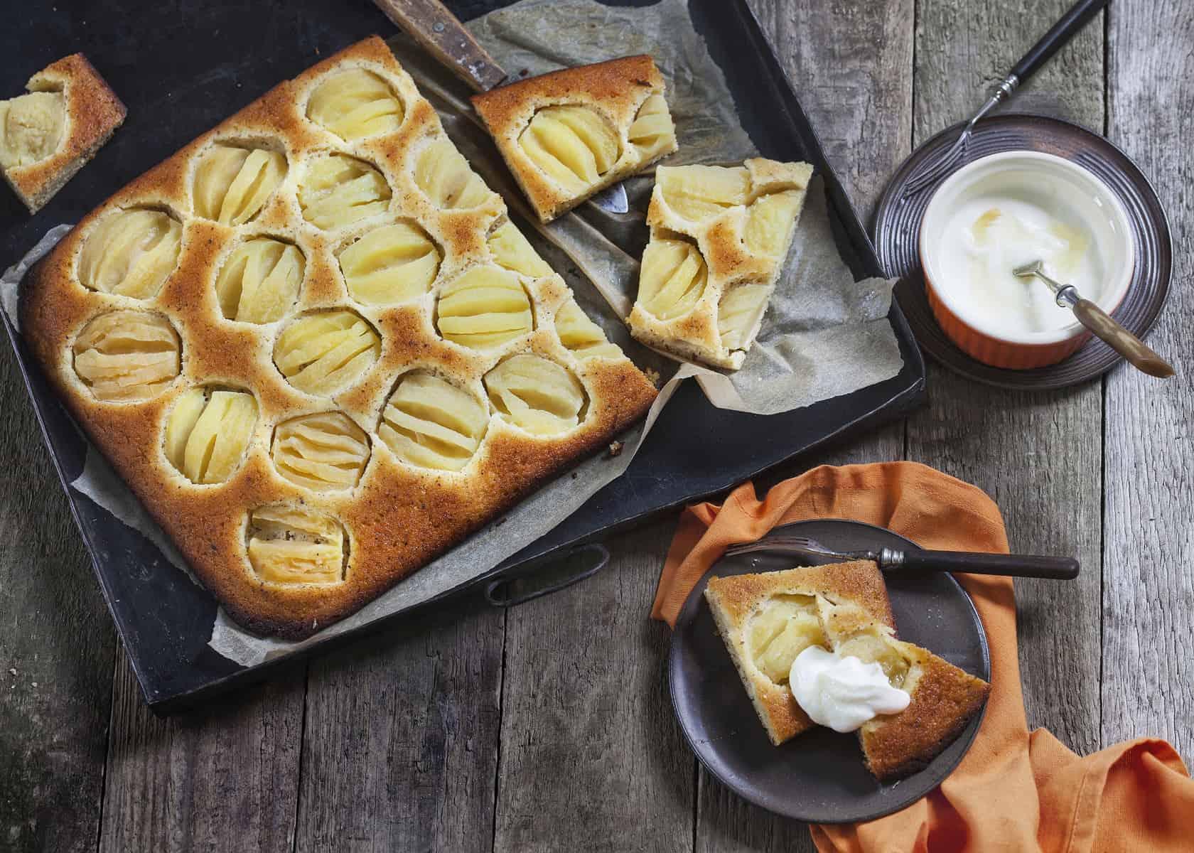 Apfelkuchen mit Grieß aus dem Thermomix® – Foto: Frauke Antholz