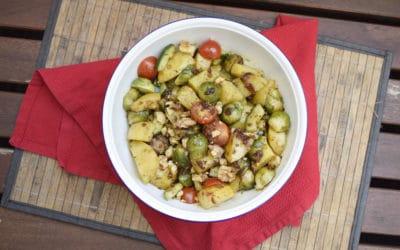 Rosenkohl-Kartoffelsalat