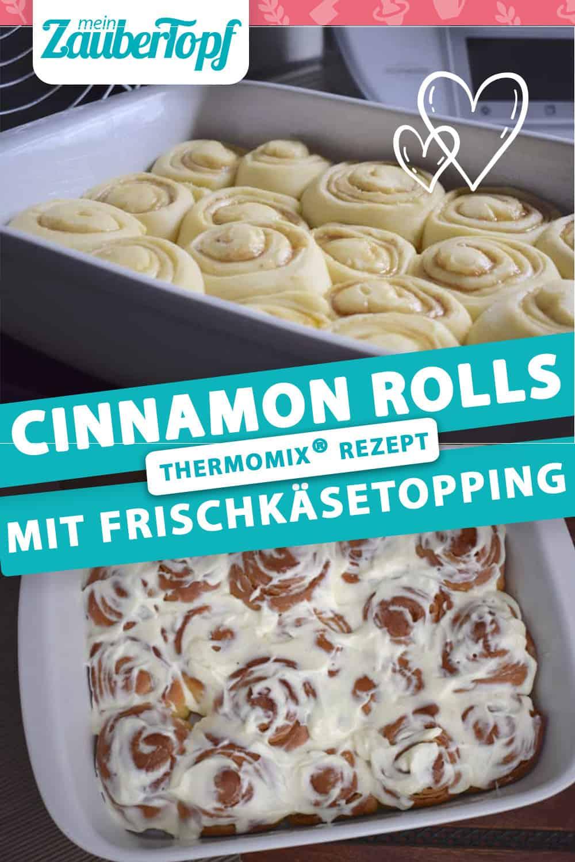 Cinnamon Rolls mit Frischkäse-Topping aus dem Thermomix® –Foto: Nicole Stroschein