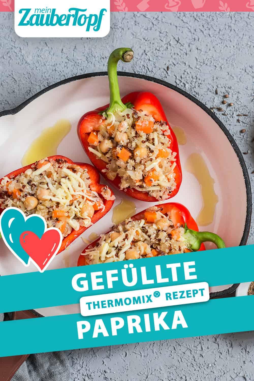 Gefüllte Paprika mit Blumenkohl-Reis aus dem Thermomix® –Foto: Gettyimages/OksanaKiian
