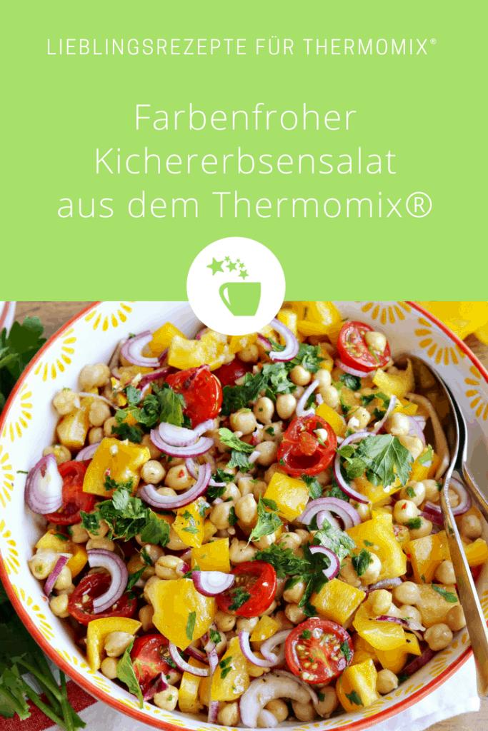 Farbenfroher Kichererbsen-Salat - Foto: Alexandra Panella