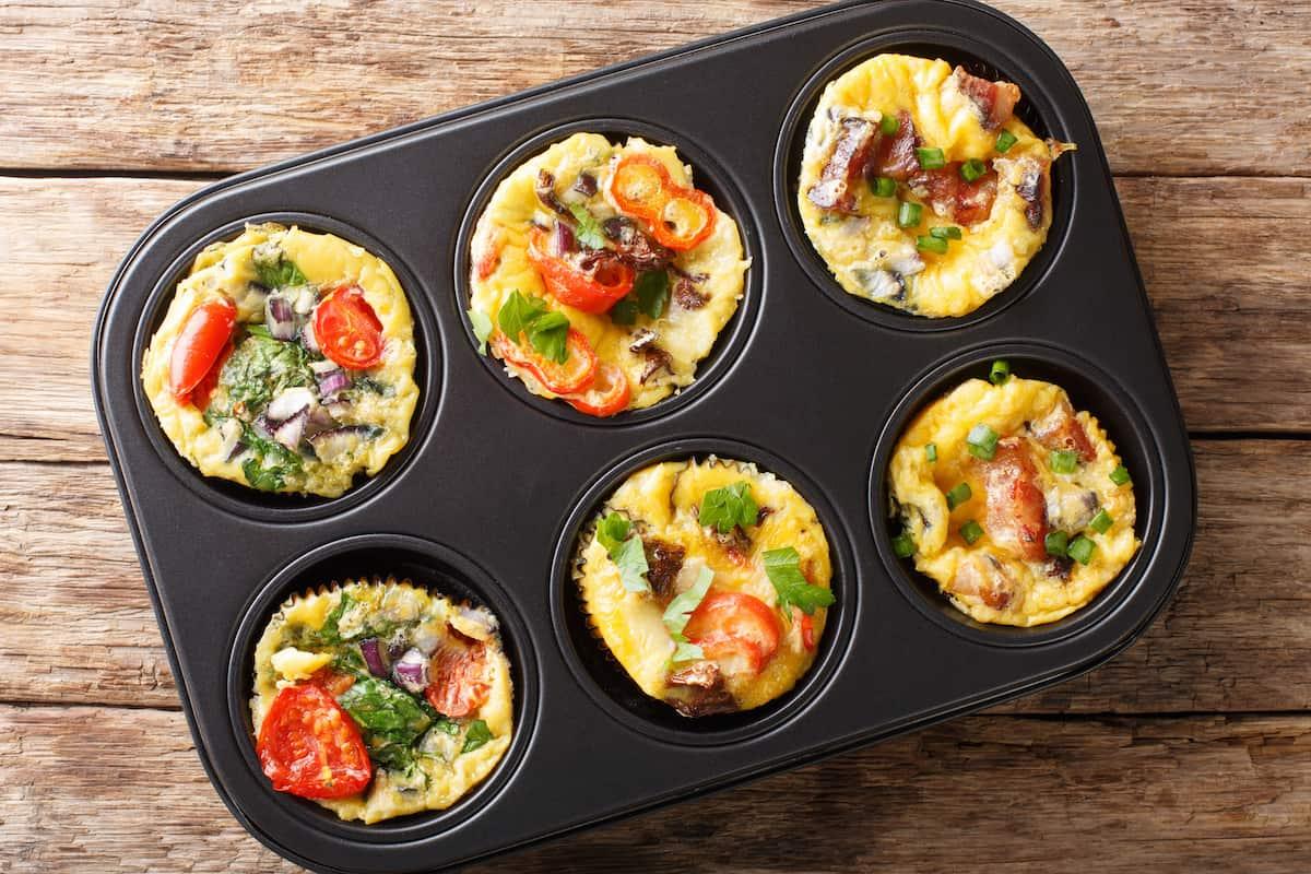 Low Carb Rührei Muffins mit dem Thermomix® – Foto: gettyimages / ALLEKO