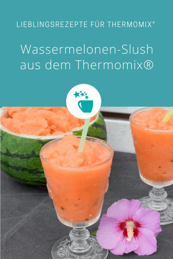 Wassermelonen-Slush aus dem Thermomix® – Foto: Nicole Stroschein