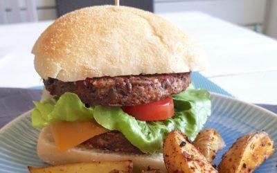 Vegane Burger aus Bohnen