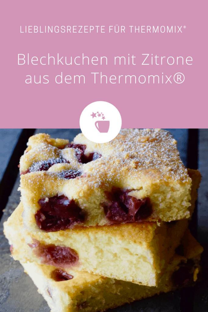 Blechkuchen mit Zitrone aus dem Thermomix® –Foto: Nicole Stroschein