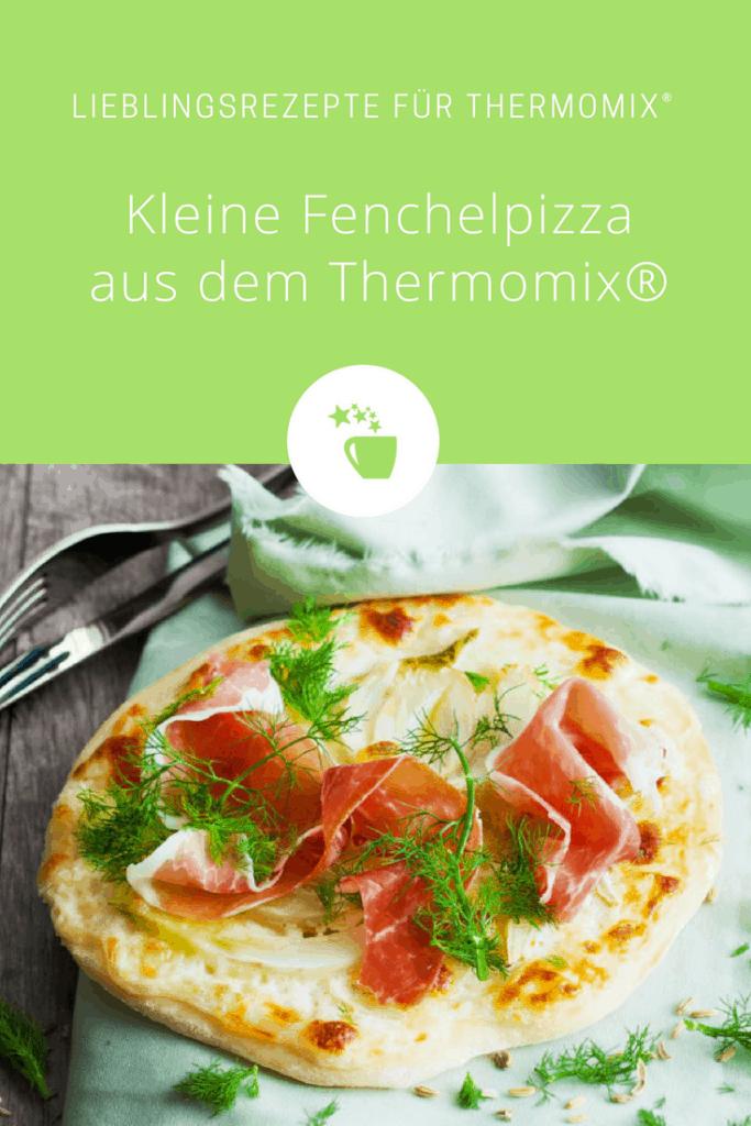 Kleine Fenchelpizza mit Mascarponecreme aus dem Thermomix® –Foto: Ira Leoni