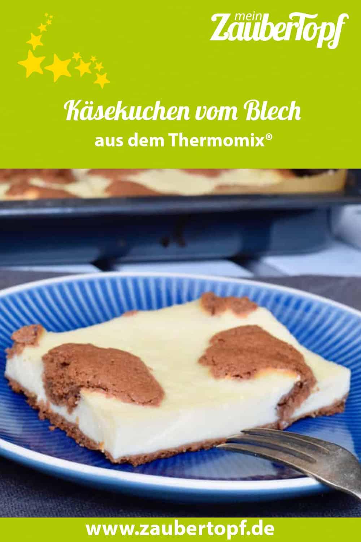 Käsekuchen vom Blech mit dem Thermomix® –Foto: Nicole Stroschein