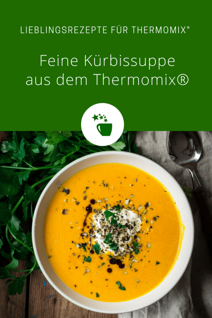 Feine Kürbissuppe aus dem Thermomix® – Foto: Désirée Peikert