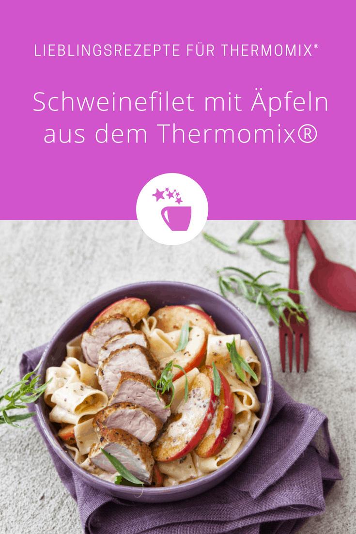 Schweinefilet mit Äpfeln und Weinsoße aus dem Thermomix® –Foto: Frauke Antholz