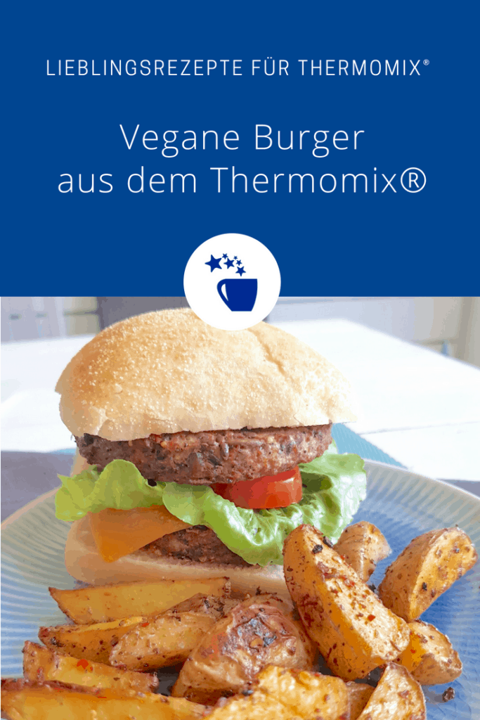 Vegane Burger aus Bohnen, Rezept für den Thermomix® – Foto: Nicole Stroschein