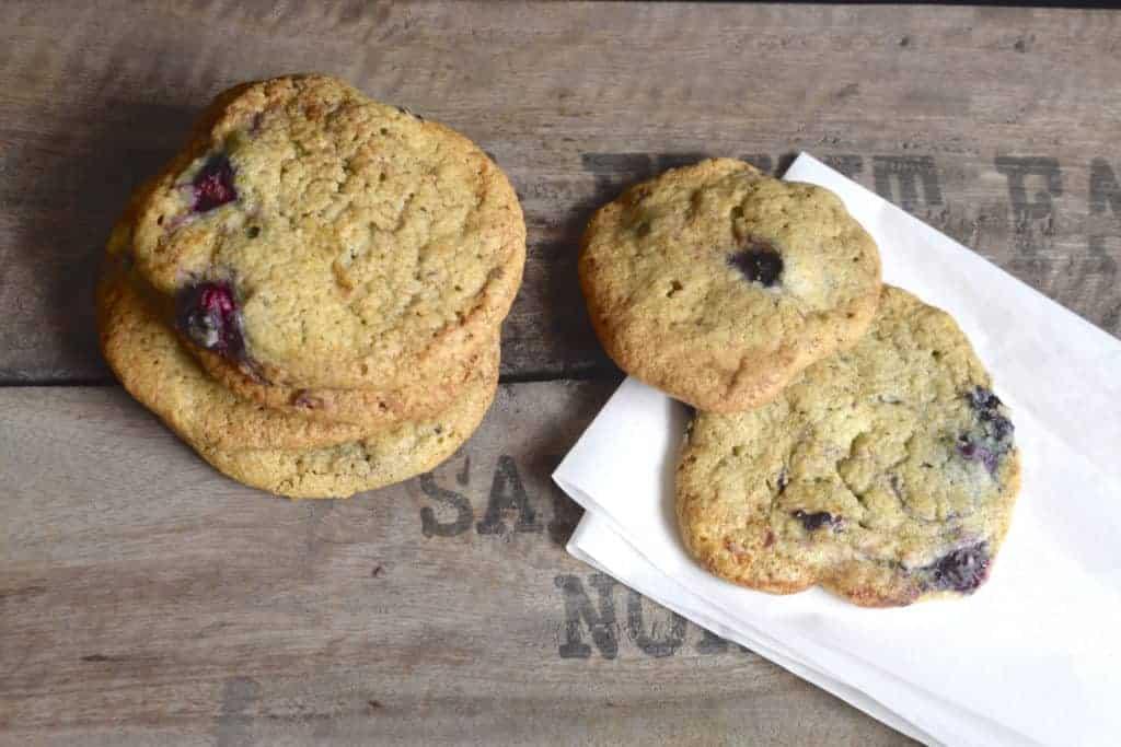 Heidelbeer-Cookies aus dem Thermomix® –Foto: Nicole Stroschein