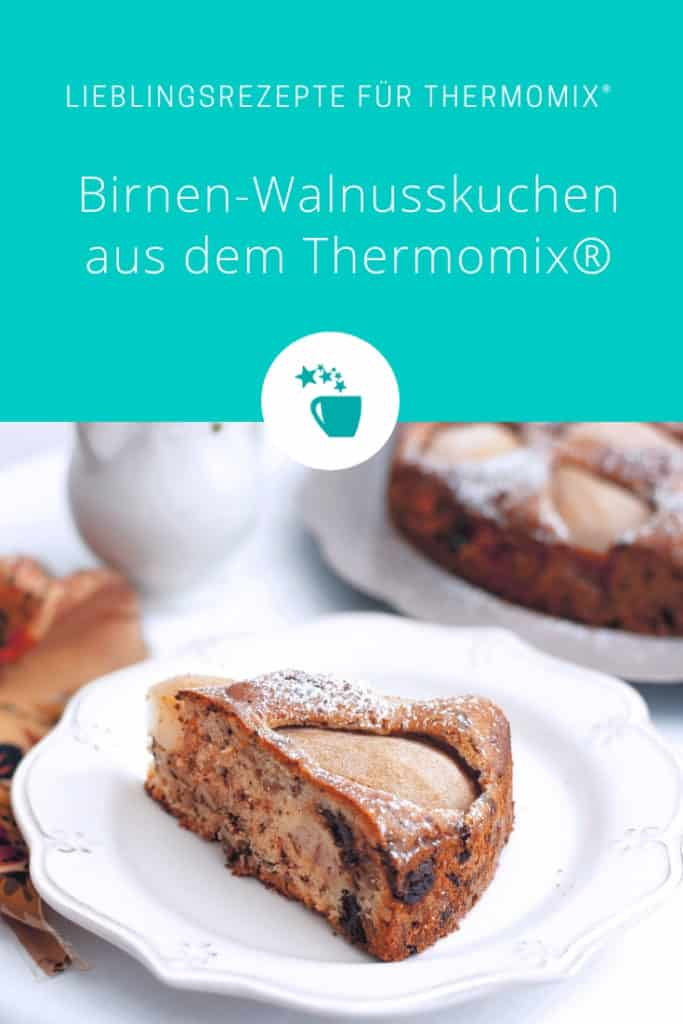 Birnen Walnusskuchen Rezept Fur Den Thermomix