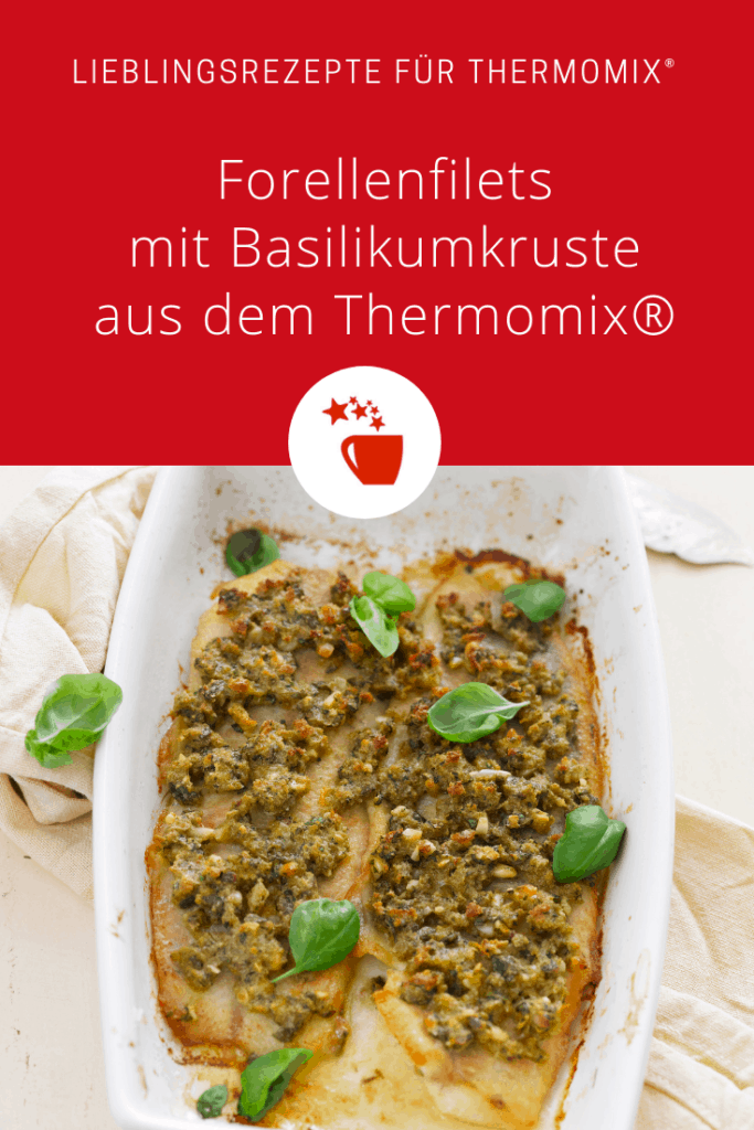 Forellenfilets mit Basilikumkruste aus dem Thermomix® –Foto: Frauke Antholz