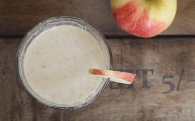 Apfelkuchen-Smoothie