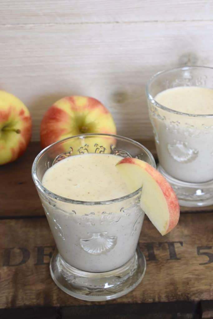 Apfelkuchen-Smoothie aus dem Thermomix® – Foto: Nicole Stroschein