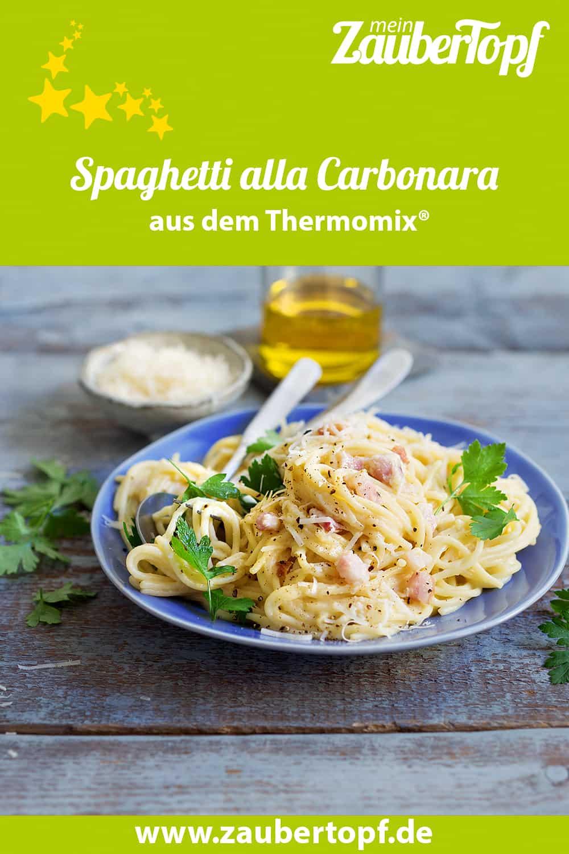Spaghetti alla Carbonara aus dem Thermomix® – Foto: Ira Leoni