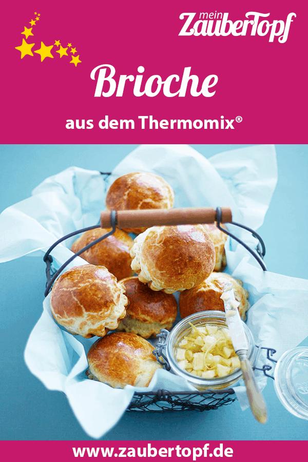 Brioche mit Apfel-Zitronenmarmelade aus dem Thermomix® –Foto: Nicky & Max