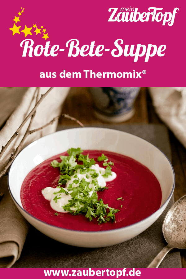 Rote-Bete-Suppe mit Meerrettichschmand – Foto: Ira Leoni