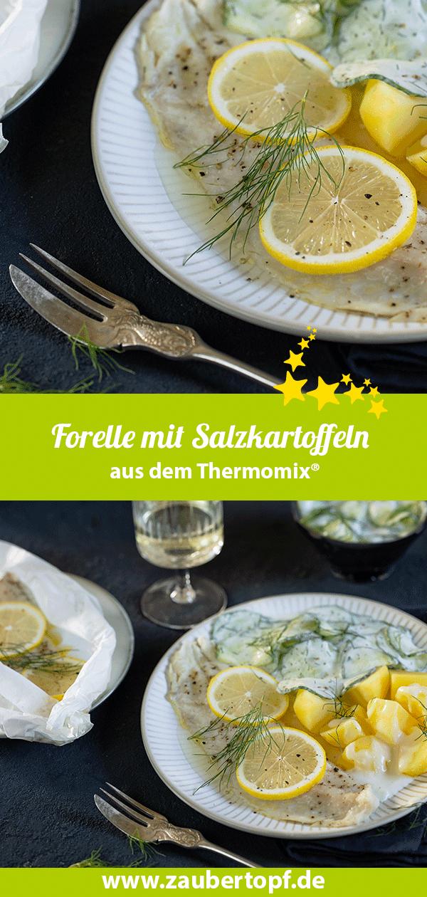 Forelle mit Salzkartoffeln aus dem Thermomix® - Foto: Frauke Antholz