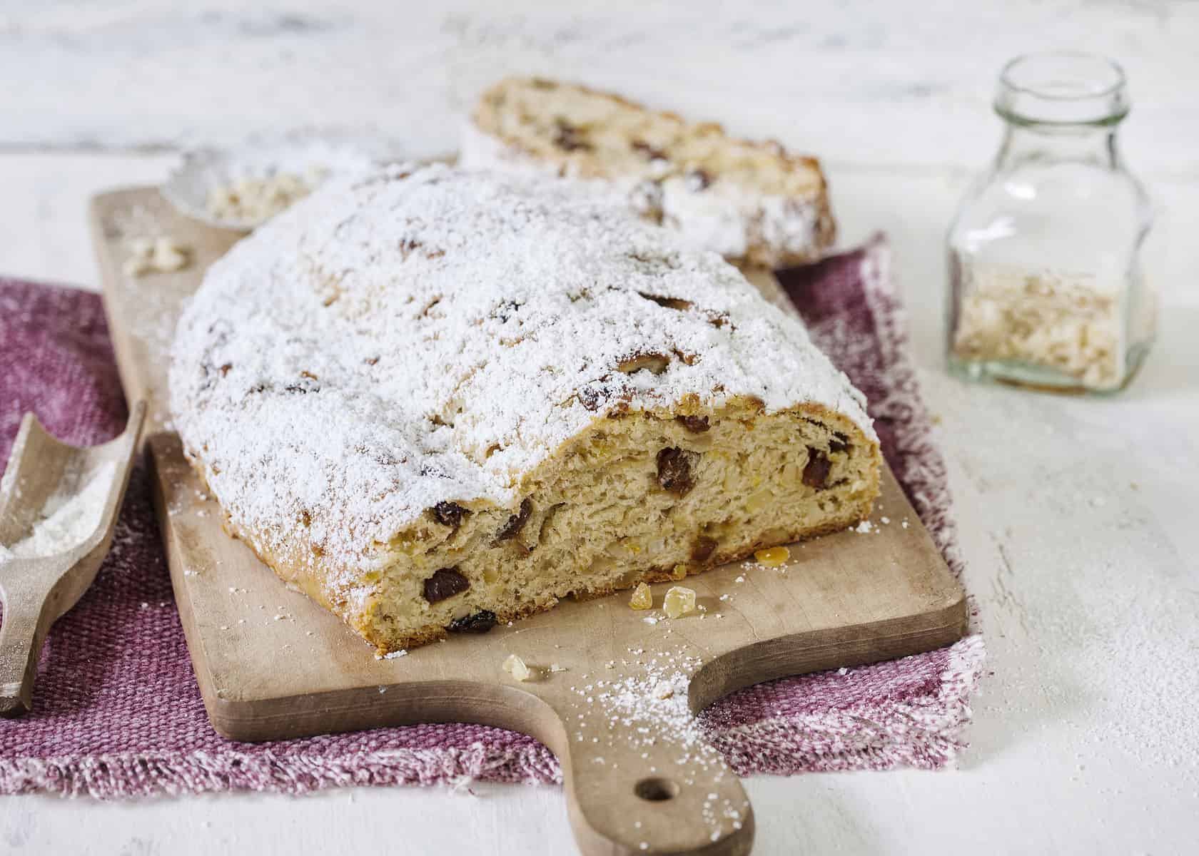 Christstollen aus dem Thermomix® – Foto: Frauke Antholtz