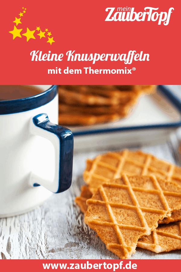 Kleine Knusperwaffeln aus dem Thermomix® – Foto: shutterstock/AnjelikaGr