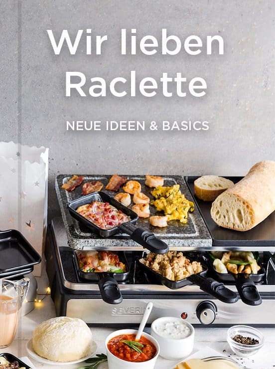 Kollektion Raclette aus dem mein ZauberTopf-Club – Foto: Anna Gieseler