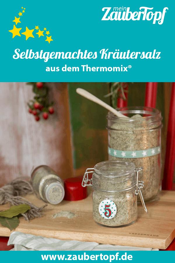 Kräutersalz aus dem Thermomix® – Foto: Kathrin Knoll