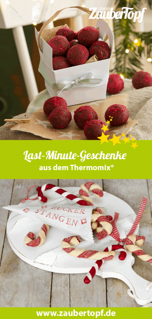 Last-Minute-Geschenke aus dem Thermomix® – Fotos: Kathrin Knoll / Frauke Antholz