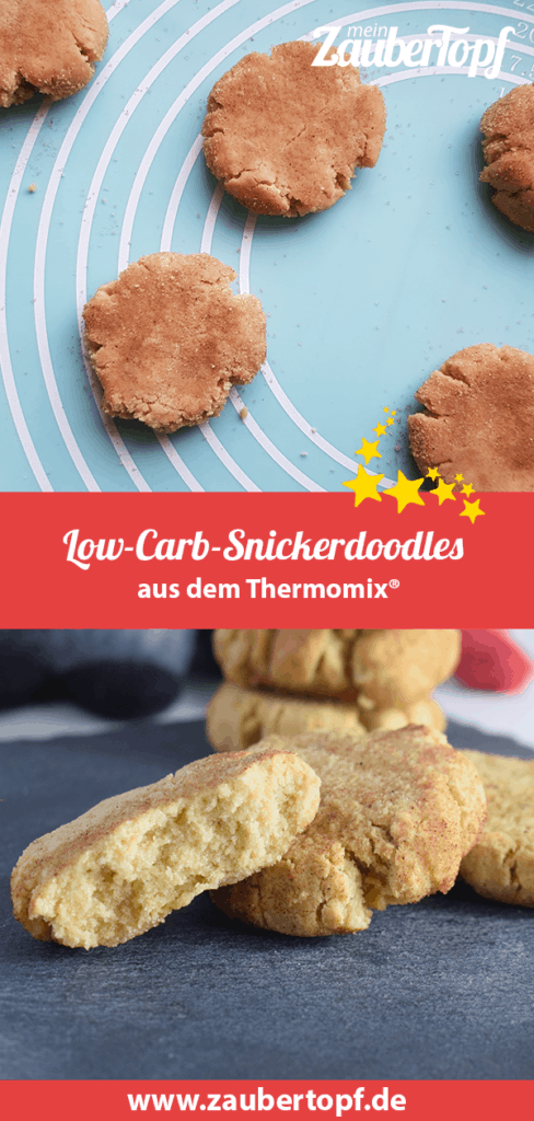 low carb snickerdoodles rezept f r den thermomix. Black Bedroom Furniture Sets. Home Design Ideas