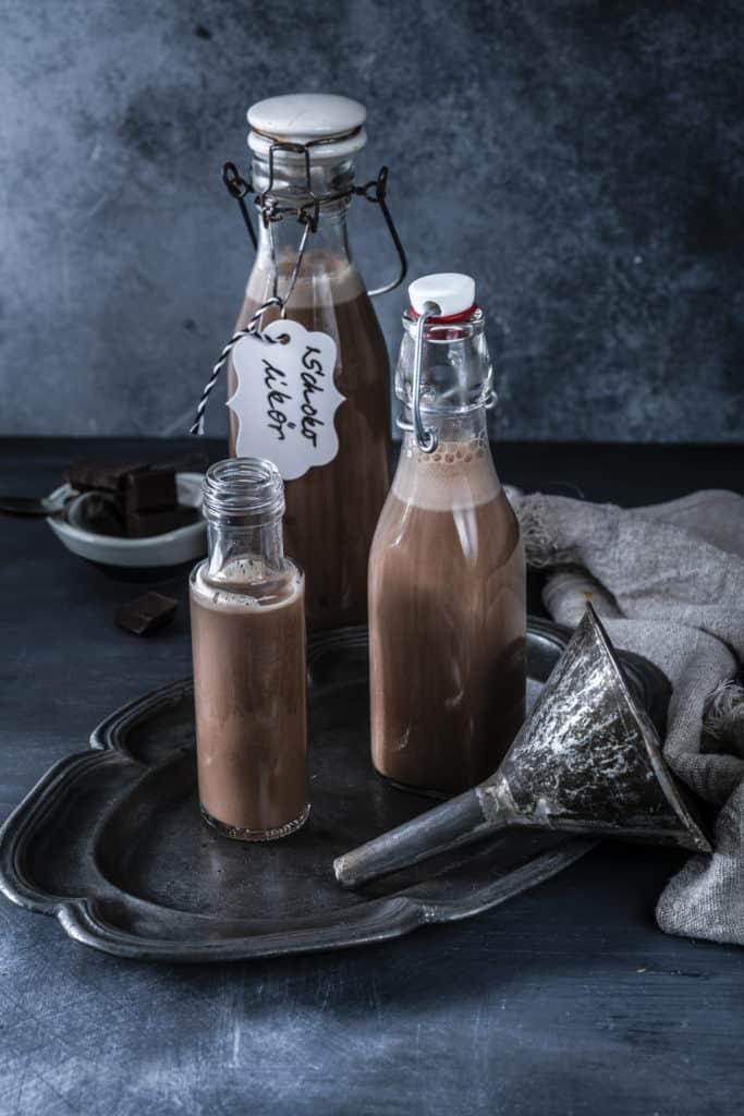 Schokoladenlikör aus dem Thermomix® - Foto: Tina Bumann