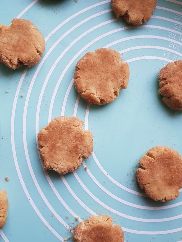 Die Low-Carb-Snickerdoodles vor dem Backen – Foto: Nicole Stroschein