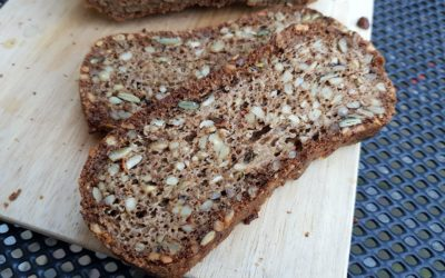 Kerniges Low Carb Brot ohne Mehl