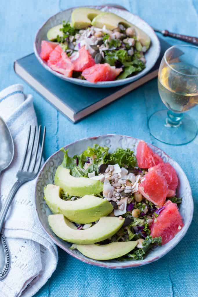 mein ZauberTopf-Club Detox Salat mit dem Thermomix® – Foto: Sohpia Handschuh Wintersalate Rotkohlsalat