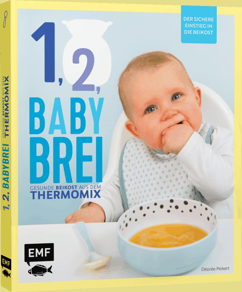 1, 2, Babybrei - Gesunde Beikost aus dem Thermomix® von Désiree Peikert – Foto: Kathrin Knoll / EMF-Verlag