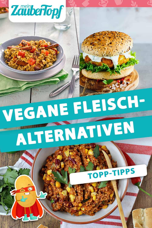Vegane Fleisch-Alternativen für Thermomix® - Foto: Alexandra Panella / shutterstock.com/Yuliya Gontar / Anna Gieseler & Kathrin Knoll