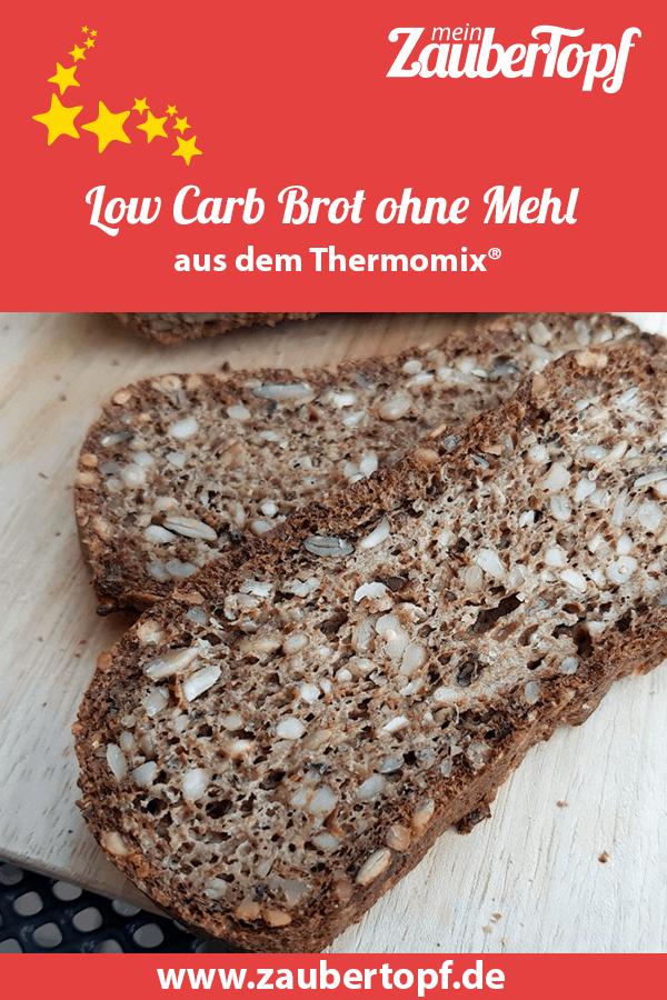Kerniges Low Carb Brot ohne Mehl aus dem Thermomix® – Foto: Nicole Stroschein