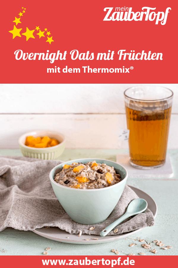 Overnight Oats aus dem Thermomix® –Foto: Anna Gieseler
