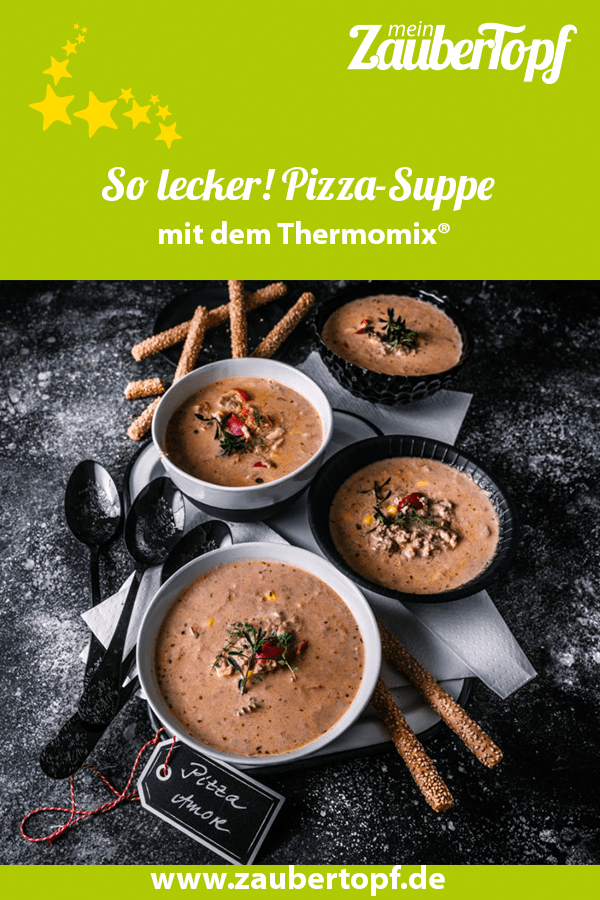 Pizza-Suppe aus dem Thermomix® – Foto: Tina Bumann