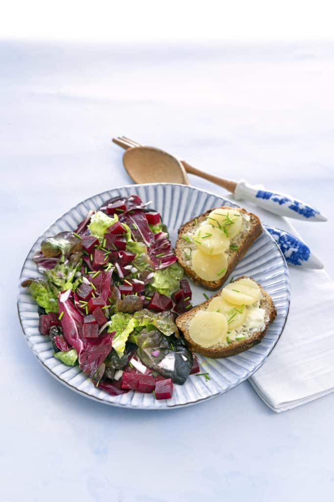 Winterlicher Salat mit dem Thermomix® – Foto: Tina Bumann, Wintersalate, Rotkohlsalat, mein ZauberTopf-Club