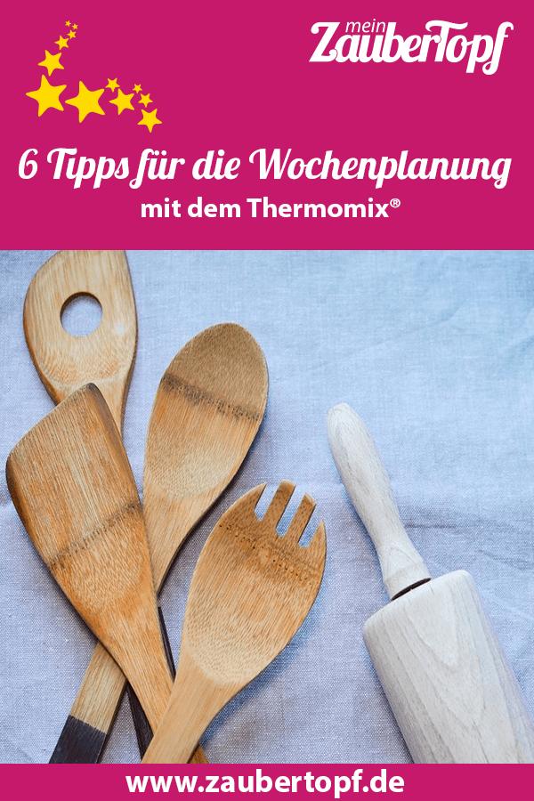 Wochenplanung, Thermomix® – Foto: Pixabay/Monicore