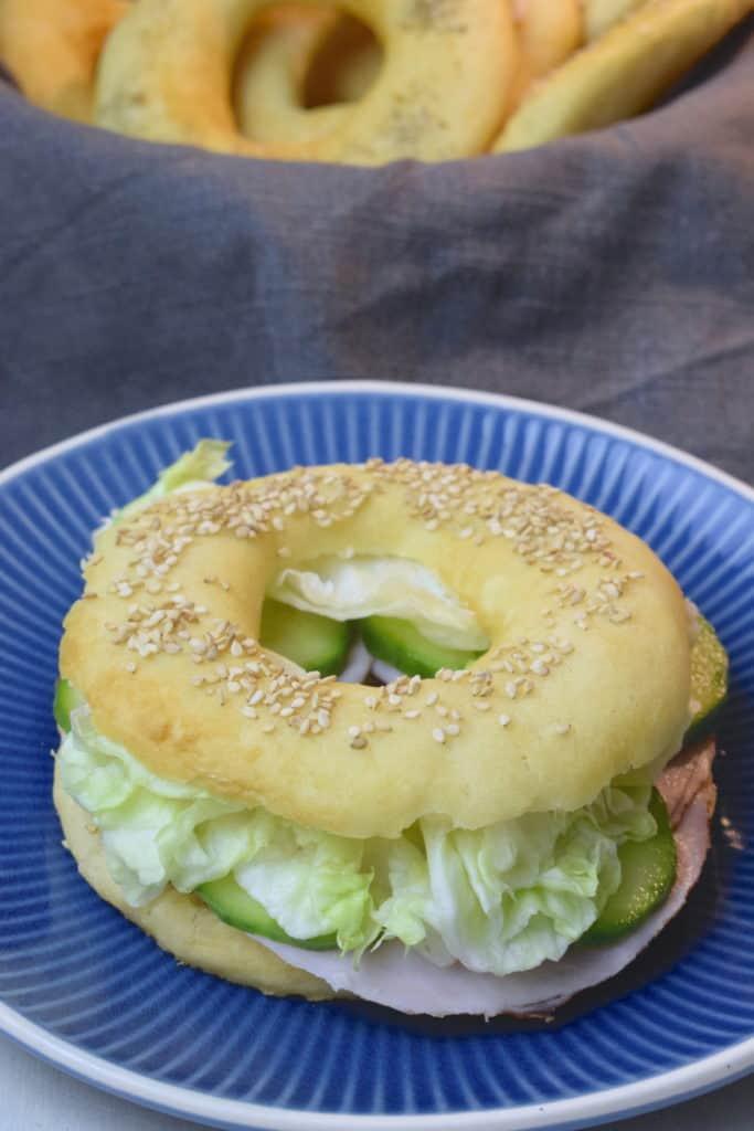 Glutenfreie Bagels mit dem Thermomix® – Foto: Nicole Stroschein