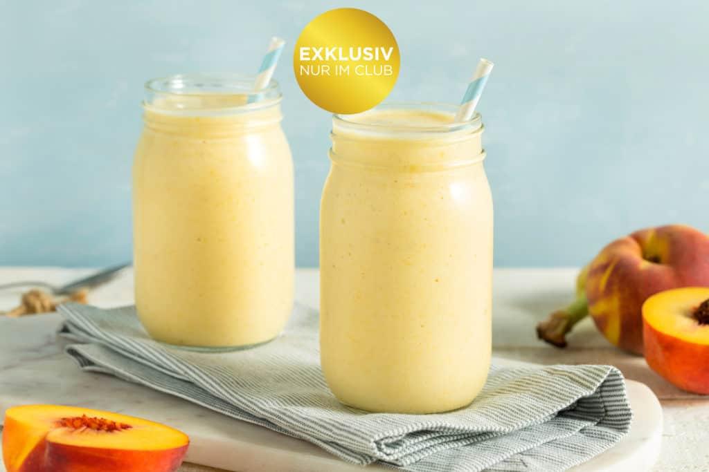 Buttermilch-Smoothie mit Pfirsich – Foto: Gettyimages