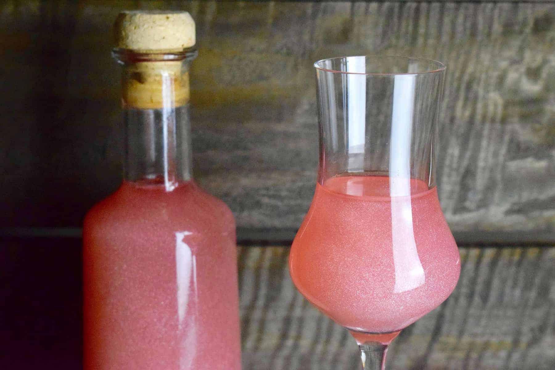 Party: Pink Flamingo Likör aus dem Thermomix® – Foto: Nicole Stroschein